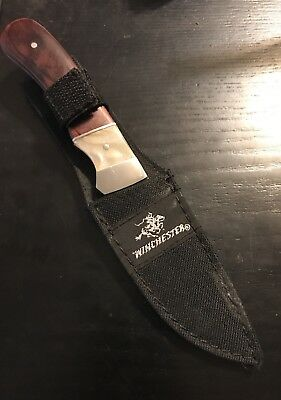 Winchester Limited Edition 2008 Fixed Blade Knife With Sheath (74081L 9-1)