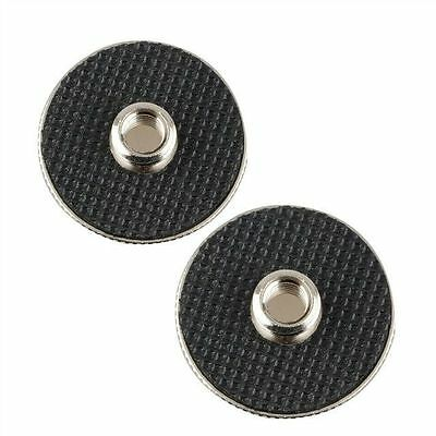 """2Pack 1/4"""" Female to 3/8"""" Male Thread for Tripod Monopod QR Plate"""