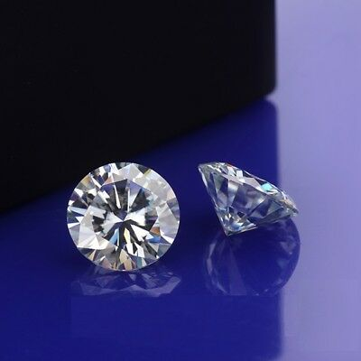 3.50 MM to 10.00 MM VVS/G-H Loose Brilliant Cut Round Moissanite for Ring