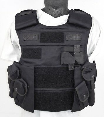 COVER ONLY! X Police Mehler Tactical ARV Bullet Proof Vest Body Armor H6 SC5