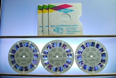 Germany I, II, III Reels Only - 1575A, B, C - Sawyers View-Master
