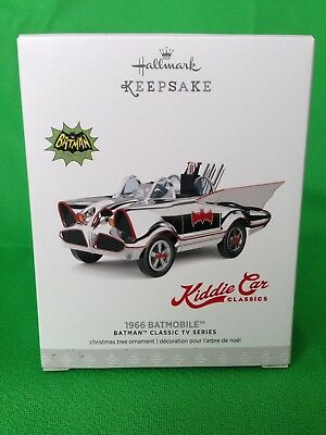 2017 Hallmark LIMITED EDITION Batman 1966 Batmobile Kiddie Car Classics
