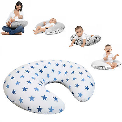 New 4Baby Blue Twinkle 4 In 1 Nursing / Pregnancy Pillow Baby Support Cushion