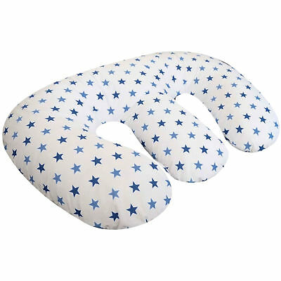 New 4Baby Blue Twinkle 4 In 1 Twin Pregnancy / Maternity Pillow / Cushion
