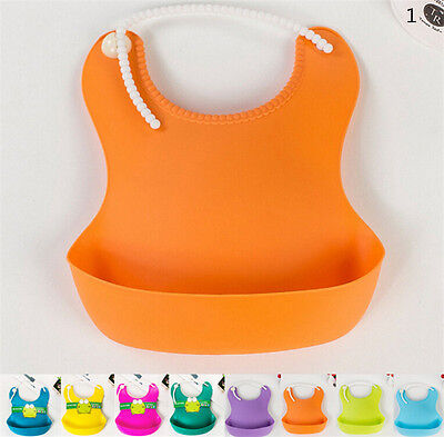 Baby Infants Kids Cute Bibs Baby Lunch Bibs Cute Waterproof Bibs Pop HGUK
