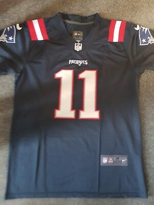 finest selection ebb3c 813b7 BNWT JULIAN EDELMAN 2017/2018 NFL New England Patriots Colour Rush jersey