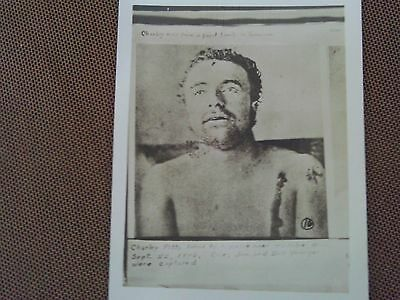 RARE 1900s RPPC KILLED CHARLEY PITTS CORPSE JESSE JAMES GANG YOUNGER BROTHERS