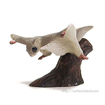 Eikoh Miniature Planet ONLY flying squirrel ONLY animal PVC figure JAPAN new