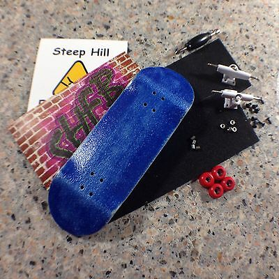 Steep Hill Fingerboard O-ring 32mm Trucks Red 2 Stickers Hardware,Tool