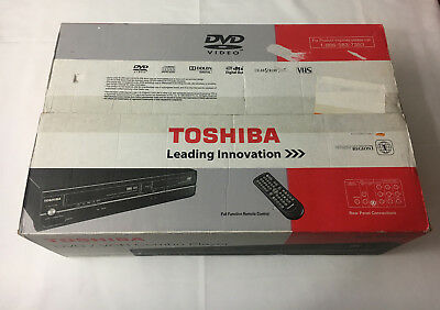 Toshiba SD-V296 DVD & VCR Combo Player with VCR Recorder (Tunerless) - New