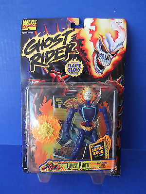 Marvel Comics Ghost Rider, Ghost Rider Action Figure  1996 TOY BIZ
