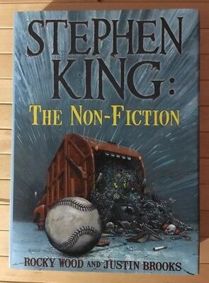 Stephen King The Non Fiction Slipcased Signed Numbered Limited Edition Hardcover