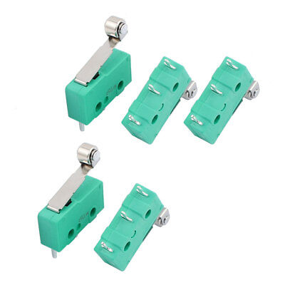 5stk KW12-2S Mikroschalter 18mm Hebel Endschalter Microswitch 3P AC250/125V 5A