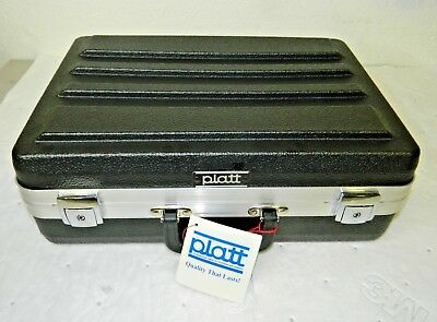 "Platt Luggage Hardshell Molded Tool Case Black 18"" x 13"" x 6"" 600T-CB"