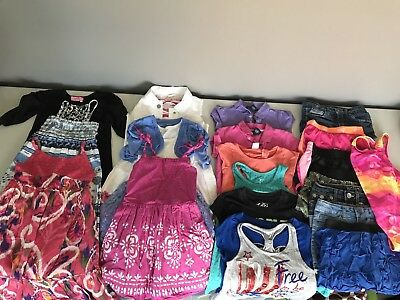 Girls Size 5-6-7 Small Spring Summer Clothing 22 Piece Lot Justice Ralph Lauren