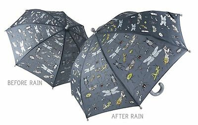Floss & Rock Colour Change Umbrella Bugs Design Have Fun In The Rain Boys Gift