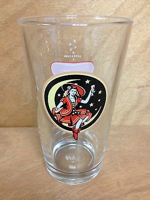 Miller High Life Girl On The Moon Glass - One (1)  MHL Pint Glass 16oz - NEW