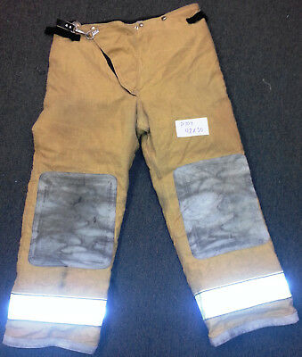 42x30 Pants Firefighter Turnout Bunker Fire Gear Globe Traditional Trad P704