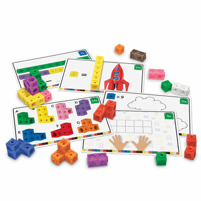 Learning Resources Math Link Cubes Activity Set