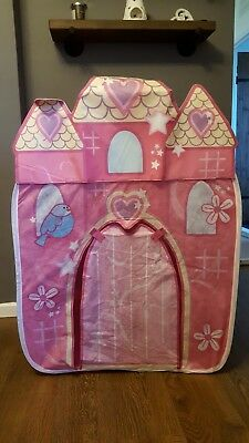 Chad Valley Pop Up Princess Castle Play Tent & CHAD Valley Pop Up Princess Castle Play Tent - £5.00 | PicClick UK
