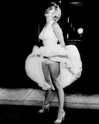 1955 'The Seven Year Itch' MARILYN MONROE Glossy 8x10 Photo Film Print Poster