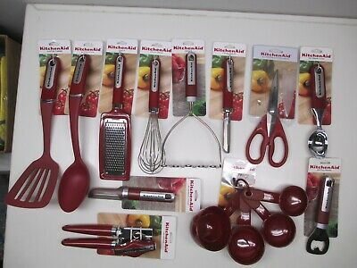 KitchenAid Empire Red Cooking Utensils choose style from dropdown box