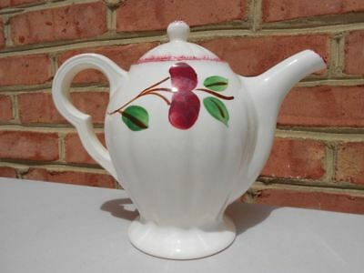 Vintage Blue Ridge Pottery Crabapple Coffeepot Excellent Crab Apple Coffee Pot