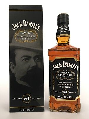Jack daniels daniel's Master Distiller No. 1 full & sealed 700ml whisky bottle