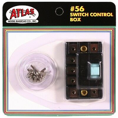 Atlas 56 HO/N-Scale Switch/Turnout Control Box For Atlas & Other Twin Coils