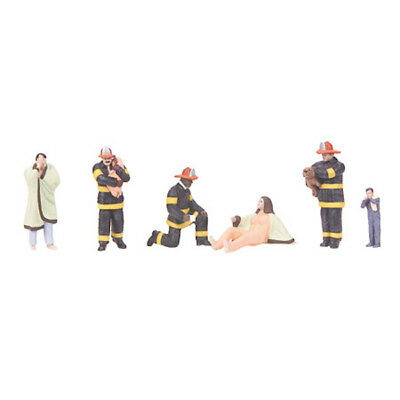 MTH MTH3011060 O Fire Scene Figures #8 (6)