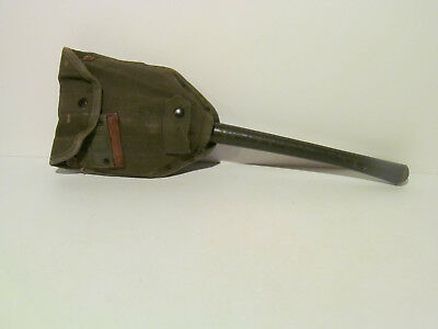 Ww2 Us Military Ames 1945 Army Entrenching Folding Shovel Tool & Cover