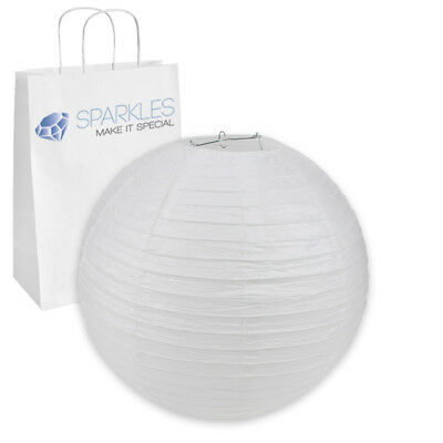 """20"""" inch Chinese Paper Lantern - White - Wedding Party Event Decoration th"""