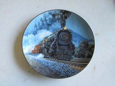 """Knowles The Romantic Age of Steam """"The Broadway Limited"""" Plate"""