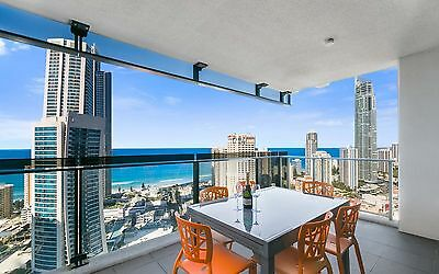 GOLD COAST ACCOMMODATION Circle Apartments 2 Bed + Study Oceanside 5nts $1025