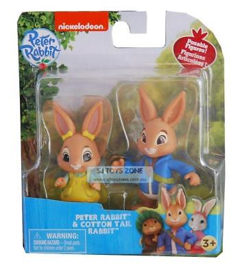 Peter Rabbit 2 Figure Kids Toy Adventure Pack Peter & Cotton Tail Rabbit