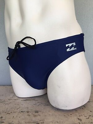 Billabong Boys/Mens Swimmers Briefs Budgie Smugglers Navy Sizes 10-12-14-40