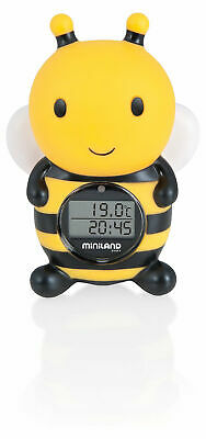 Neu Miniland Digitales Bad- und Raumthermometer Thermo Bath 5139620