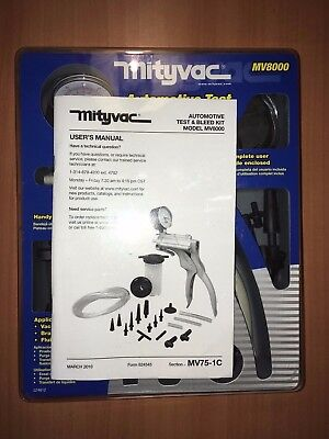 Mityvac Mv8000 Automotive Test & Bleed Kit