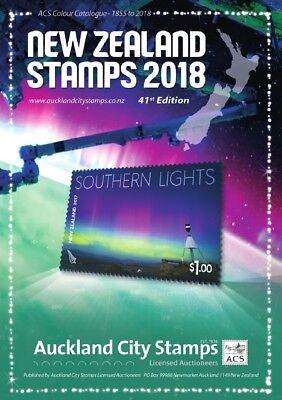 NEW ZEALAND Stamps 1855-2017 136pp ACS Colour Catalogue Latest stamp values NEW!