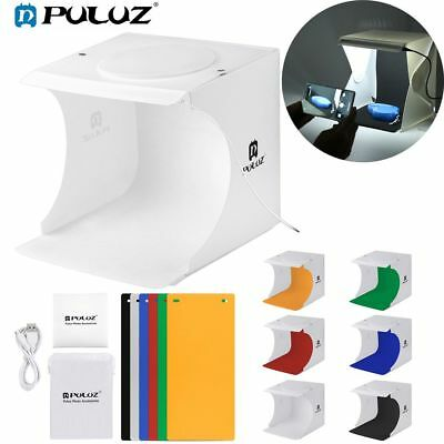 PULUZ Mini Portable Photo Studio Light Box Photography Backdrop Lightroom Tent