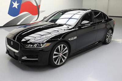 2017 Jaguar XE R-Sport Sedan 4-Door 2017 JAGUAR XE 35T R-SPORT SUPERCHARGED SUNROOF NAV 6K #948827 Texas Direct Auto