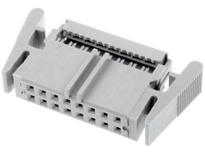VFL16G Plug IDC female PIN16 straight IDC for ribbon cable 1.27mm