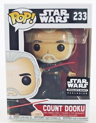 FUNKO POP COUNT DOOKU sith STAR WARS SMUGGLERS bounty EXCLUSIVE #233