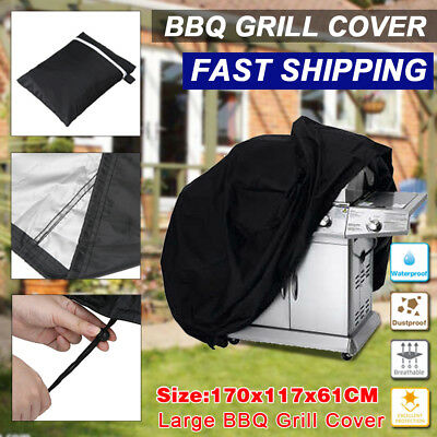 Extra Large Bbq Cover Outdoor Waterproof Barbecue Garden Patio Grill Protector
