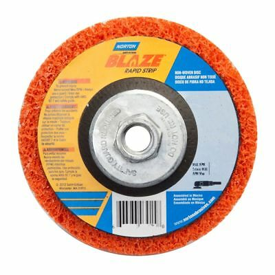 Norton 66254498101 Blaze Rapid Strip Extra Coarse Depressed Center Disc, Orange