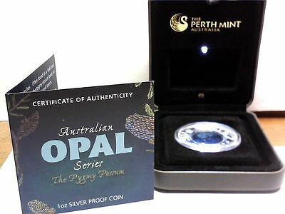 2013 1 Oz Silver Proof Australian  Opal   Pygmy Possum #4 In Series Perth