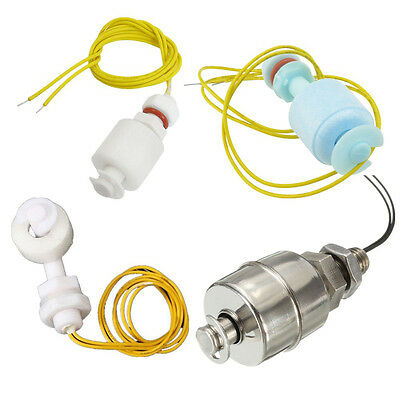 Stainless Steel 45mm/ PP 52mm/ Right Water Level Sensor Ball Float Switch ATF