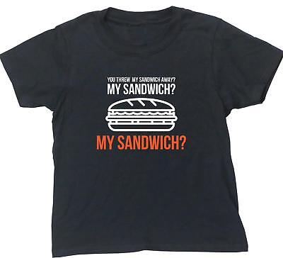 My sandwich Ross Friends kids short sleeve t-shirt funny tv series