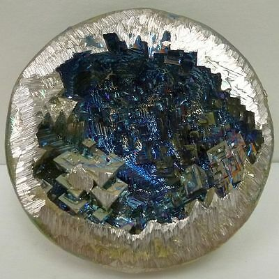 Bismuth Beautiful Unique One of a Kind Display Hand Made USA Rainbow Geode 6