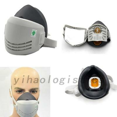 Reusable Chemical Rubber AntiDust Paint Respirator Industrial Work Mask US Local
